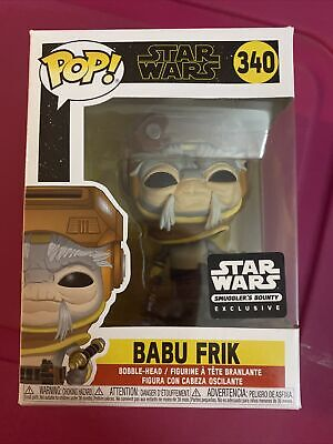 Funko Pop! Star Wars Babu Frik! Star Wars Smugglers Bounty Box Exclusive!