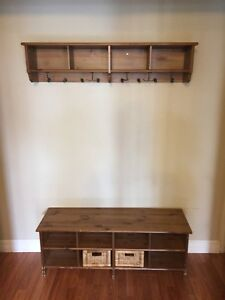 IKEA entry bench