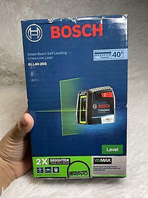 Bosch Green Beam Laser Level Gll40-20g
