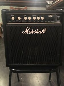 Marshall MBB 15 Bass Guitar Amp