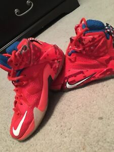 LeBron 12s USA Independence Day addition