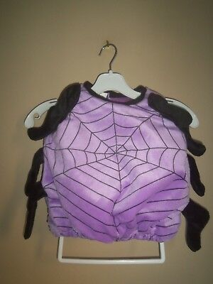 SPIDER PURPLE BLACK WARM BUBBLE BODY 8 LEGS HALLOWEEN COSTUME UP TO 24 MONTHS](Warm Bodies Halloween Costumes)