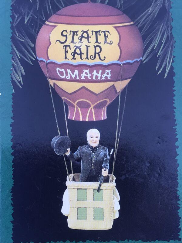 NEW 1996 Wizard of Oz Hallmark Wizards State Fair Balloon Ornament QXC4161