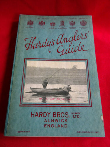 A SUPER VINTAGE HARDY ADVERTISING FISHING CATALOGUE ANGLERS GUIDE 1937
