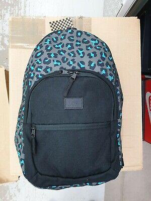 Vans Motiveatee Animal Printed Rucksack Backpack Daypack Bag Causal Travel Gym