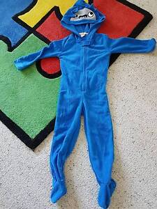 Lily and Dan blue shark head onesie - Size 3 Mount Gravatt Brisbane South East Preview