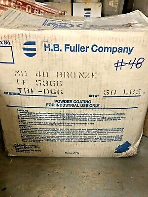 48 Bronze Powder Coating Paint - New 1lb