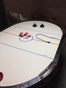 6 person Air Hockey table