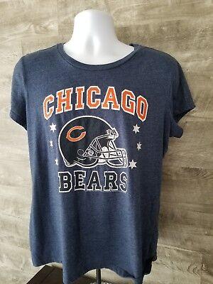 e37d4a5d641 NFL Team Apparel CHICAGO BEARS Jersey Shirt Womens SZ XL