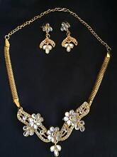 Beautiful necklace and earrings set Melbourne CBD Melbourne City Preview
