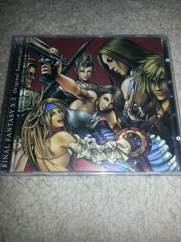 Final Fantasy X-2 Original Soundtrack Two Disc CDs