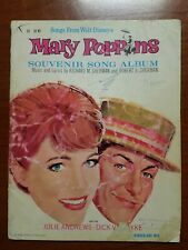 Mary poppins piano music book
