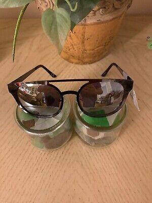 NWT Target Bronze Metal Rim Sunglasses Mens Aviators 100% UVA UVB Protection - Cat Eye Sunglasses Target