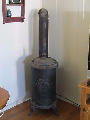 Antique Vintage Cast Iron Wood Stove Nice Decorative Country Primitive Decor