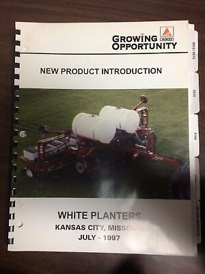 1997 White Planters New Product Information For Dealers