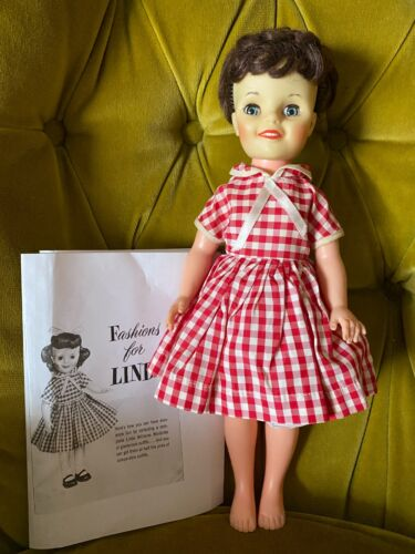 "Vintage Cereal Mail-in LINDA WILLIAMS 15"" DOLL - Make Room for Daddy TV Show"