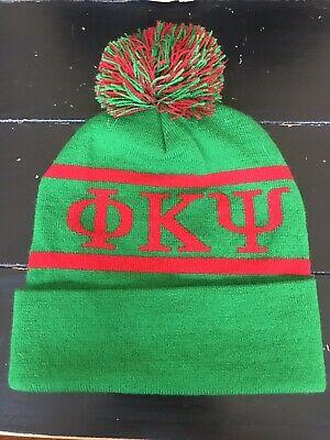 Phi Kappa Psi Knit Beanie Pom Winter Hat - New Colors