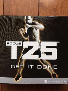 Beach body T25 Focus  Fitness Workout