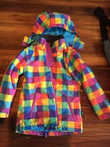 Kids snow jacket size 6