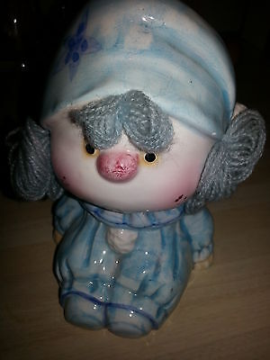 Baby Boy China Vase for Bouquet baby shower gift Rare Vintage