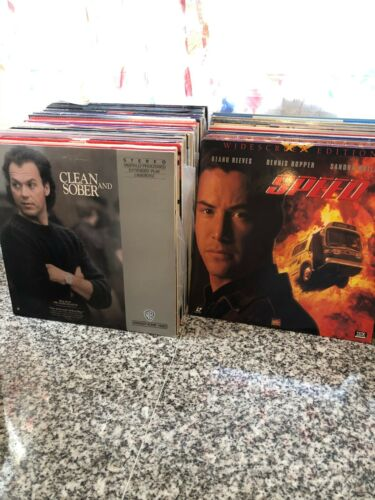 LaserDisc Lot - You Pick Any 5 for $25! - 100s of Titles Update 5-04-21