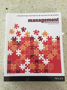 Management foundations and applications Blackmans Bay Kingborough Area Preview
