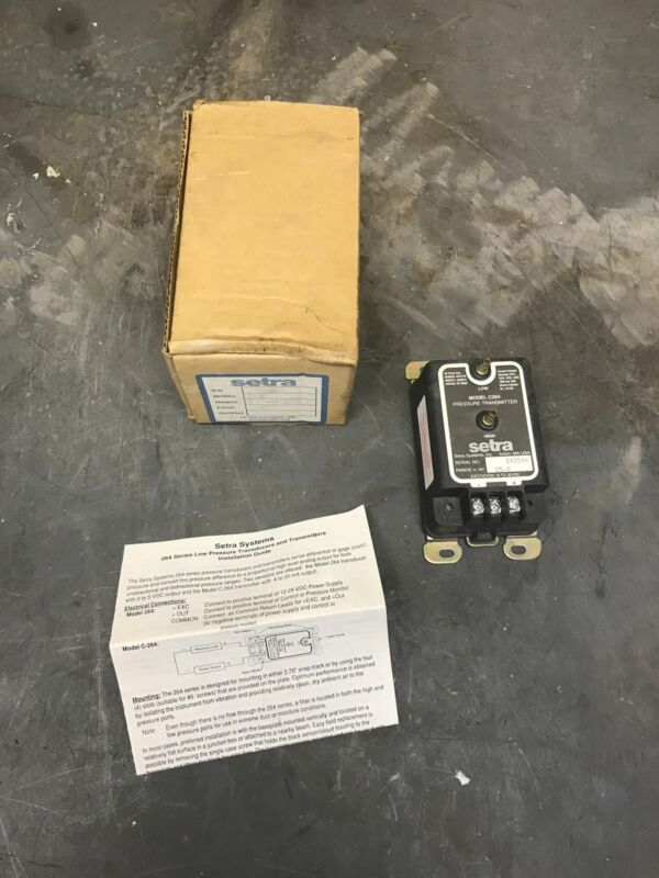 Setra C264 Pressure Transmitter