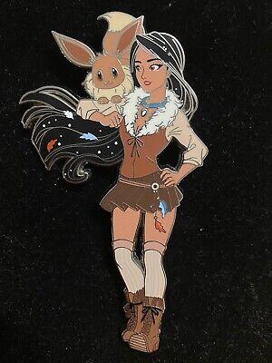 Pocahontas Eevee Disney Fantasy Pokemon Pin Poca