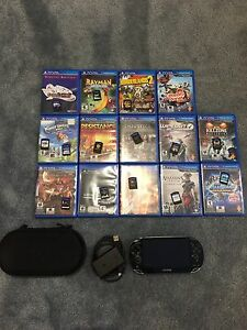 PS Vita OLED & 16 games 8GB