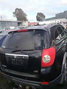 NOW WRECKING HOLDEN CAPTIVA LX BLACK 2008-10 ALL PARTS Dandenong South Greater Dandenong Preview