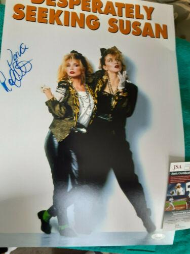 Rosanna Arquette  autographed 10.5x18 Desperately Seeking Susan photo  JSA Cert
