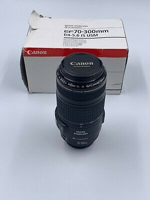 Canon Zoom Lens EF 70-300mm 1:4-5.6 IS USM Ultrasonic Macro Lens