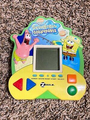 Nickelodeon SpongeBob Squarepants 2006 Handheld Electronic Game Zizzle Tested