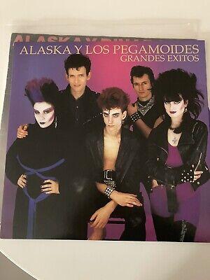 LP ALASKA y LOS PEGAMOIDES grandes exitos NUEVO LTD VINILO MORADO Fangoria