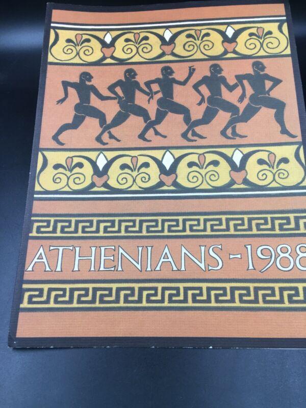 1988 Krewe of Athenians Court and Tableau New Orleans Mardi Gras Comus Rex Momus