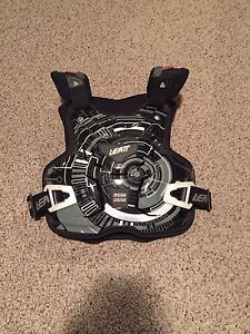 Motocross chest protector and neckbrace