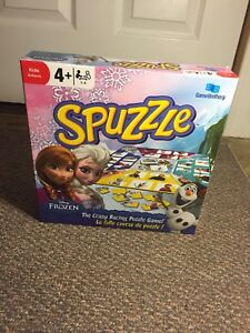 Spuzzle Board Game Frozen Edition
