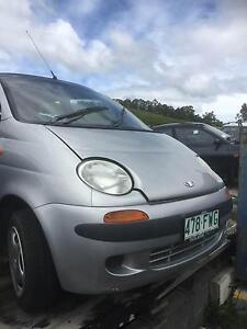 Wrecking - 5/2000 Daewoo Matiz 5dr hatch manual 166,130 km Huonville Huon Valley Preview