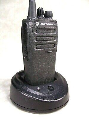 Mint Motorola Cp200d Uhf 16ch Digital Radio Waccessories