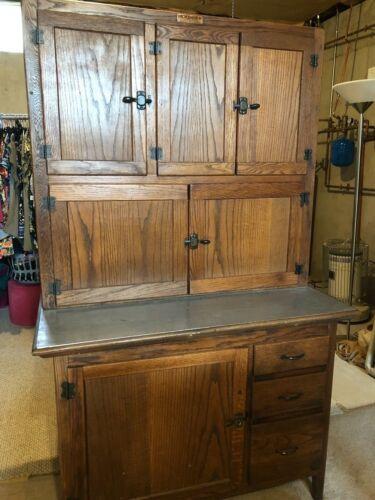 Beautiful Antique Hoosier (Kitchen Cabinet)--Excellent Condition!!