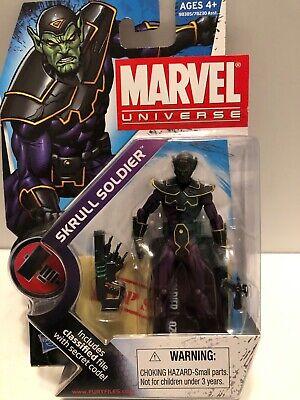 "2009 HASBRO MARVEL UNIVERSE 3 3/4"" Skrull Soldier Series 2 #24, FIGURE MOC"