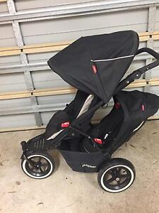 Phil & Teds Pram with toddler seat and more Mount Colah Hornsby Area Preview