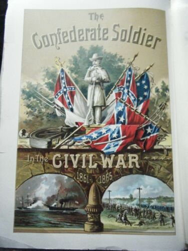 """Confederate Soldier 1897 """"The People"""