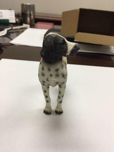 German Shorthaired Pointer White Figurine - Hand Painted - NIB - Breyer Like