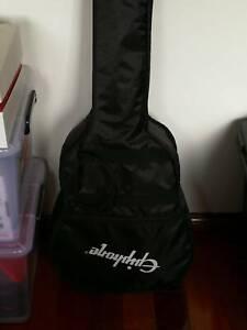 Acoustic Electric Guitar   Amplifier, strings, tuner, bag