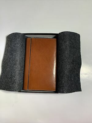 Vintage Nos 1998 Tumi Leather Planner Wbox Fits Levenger Or Scully Pocket