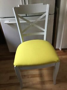 Yellow single chair