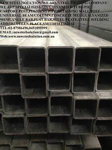 GALVANISED SHS TUBE-90MM*90MM*5MM FOR CARPORT POSTS,FABRICATION Smithfield Parramatta Area Preview