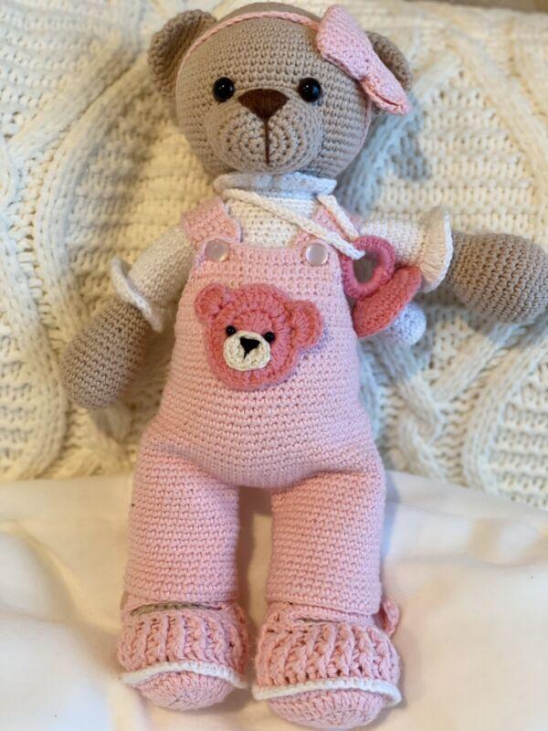 Amirigumi Crocheted Baby Bear Doll