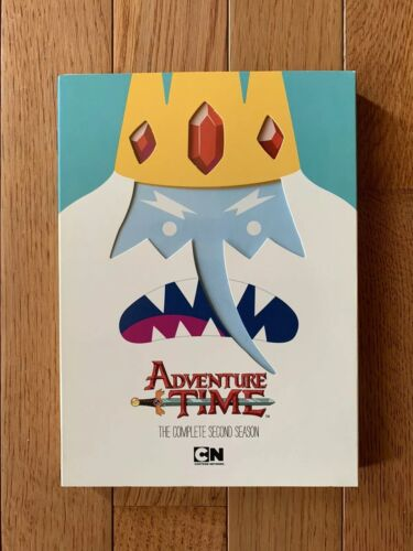 Adventure Time The Complete Second Season DVD, 2013, 2-Disc Set  - $4.99